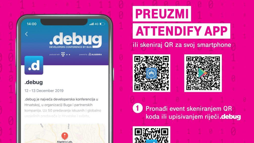 Sve informacije tijekom .debuga u mobilnoj aplikaciji