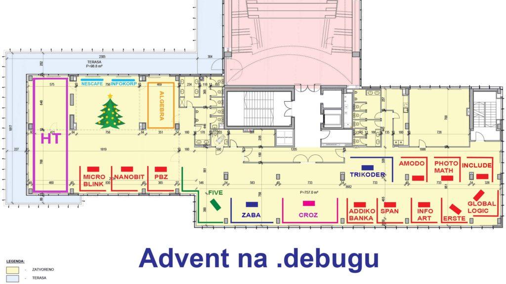 """Advent na .debugu – uživajte u 750 m2 """"kućica"""" najboljih hrvatskih tech tvrtki"""