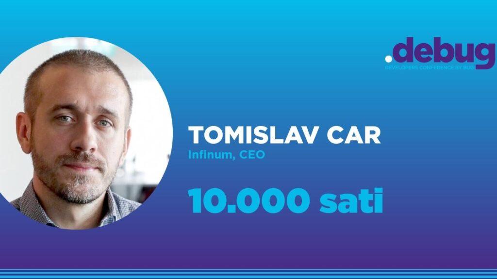 """Infinum najavljuje keynote Tomislava Cara na .debugu: """"10.000 sati"""" – ulaznice su u prodaji"""